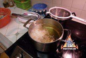 Thai Chicken Fried Hat Yai Style, 'Gai Tod Hatyai' - Fry at low heat 12-15 min