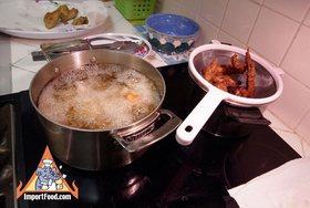Thai Chicken Fried Hat Yai Style, 'Gai Tod Hatyai' - Crispy dry fried chicken