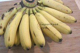 Fried Bananas, 'Kluay Tod' - Baby bananas (if avail)