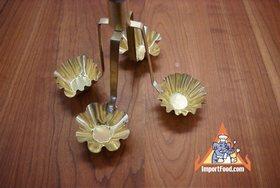 Golden Thai Pastry Cups, 'Kratong Tong' - Kratong tong mold