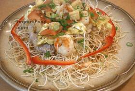 Thai Crispy Stir-Fried Noodle, 'Mee Krob' - Crispy Stir-Fried Noodle, 'Mee Krob'