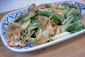 Korat-Style Stir-Fried Noodles, 'Pad Korat' - Korat-Style Stir-Fried Noodles, 'Pad Korat'