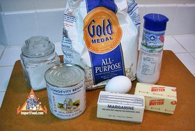 Roti Recipe - Ingredients ready