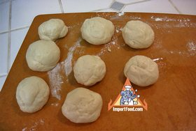 Roti Recipe - Make into smaller balls