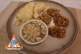 Spicy Thai Corn Cakes, 'Todman Khao Phot' - Spicy Thai Corn Cakes, 'Todman Khao Phot'
