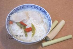 Thai Chicken Soup with Coconut Milk, 'Tom Kha Gai' - Chicken Soup with Coconut Milk, 'Tom Kha Gai'