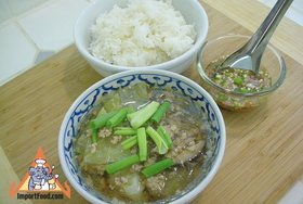 Bean Vermicelli Soup with Pork, 'Tom Jude Woonsen' - Bean Vermicelli Soup with Pork, 'Tom Jude Woonsen'