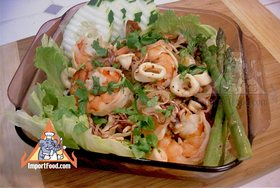 Thai Seafood Salad, 'Yum Talay' - Seafood Salad, 'Yum Talay'