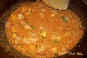 User uploaded image for Thai Prawn and Pineapple Curry, 'Kaeng Khua Saparot'