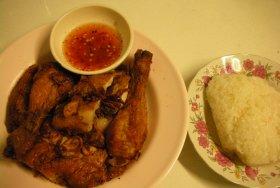 Served with Sticky Rice