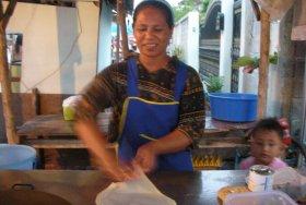 Roti Vendor, Bangkok