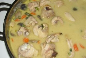 User uploaded image for Thai Chicken Soup with Coconut Milk, 'Tom Kha Gai'