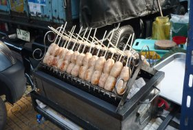 Vendor\'s cart, yummy!