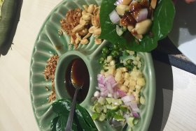 Yummy Miang Kam at The Imperior Chakri Palace KLCC