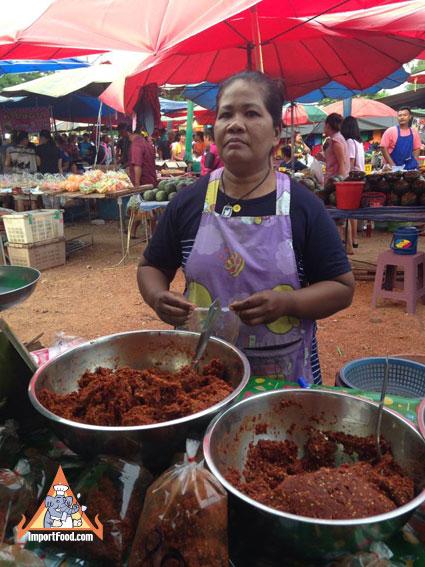 thai red curry vendor