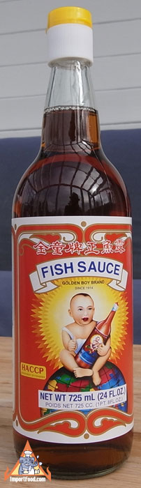 Thai fish sauce golden boy brand 24 oz bottle available for Fish sauce brands