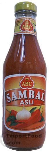 sambal asli, abc brand