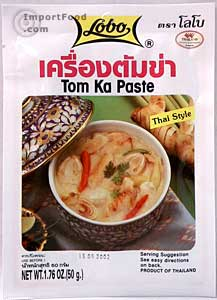 tom kha paste, thai, lobo