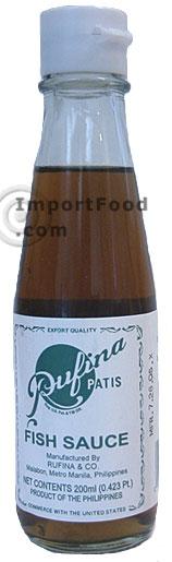 fish sauce, ruffina