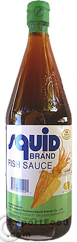 Thai fish sauce squid brand 25 oz bottle available for Squid fish sauce