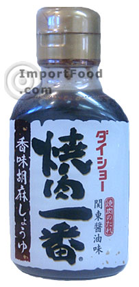 Yakiniku Ichiban, Japanese-style barbeque sauce, available online from ...