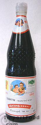 dark sweet soy sauce 14 oz bottle this is a thick sweet soy sauce used