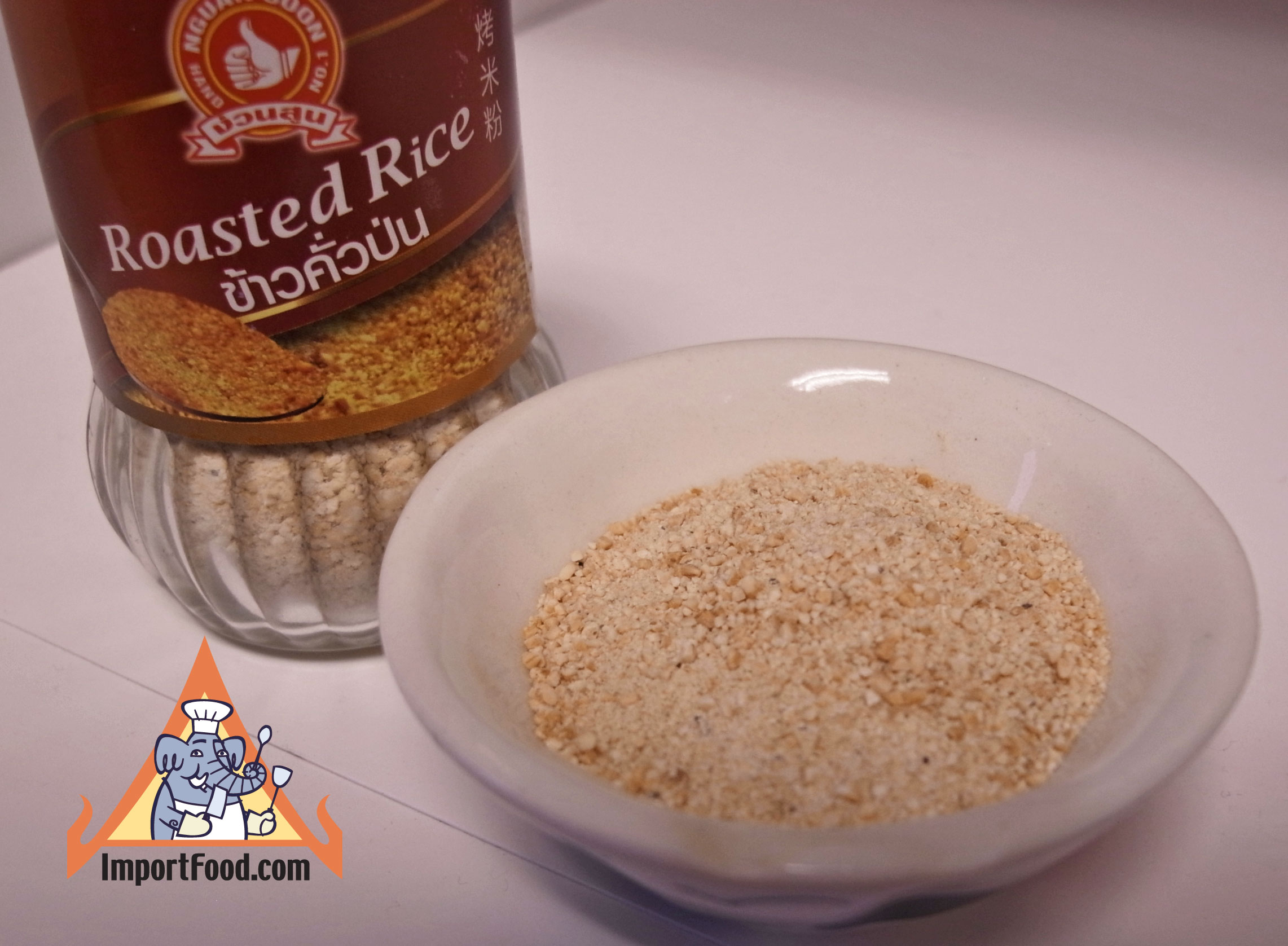 Roasted Rice Powder, Khao Koor, available online from