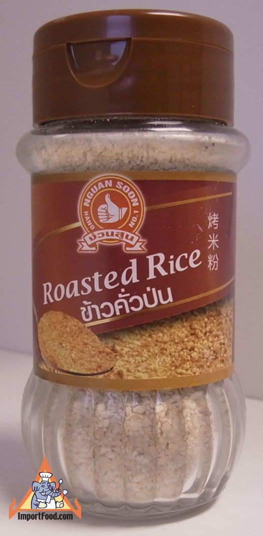 Roasted Rice Powder, Khao Koor, available online from ImportFood.com