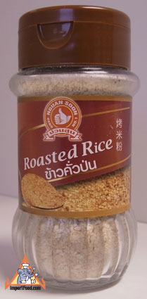 Roasted rice, khao koor, 3.15 oz
