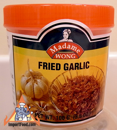 fried garlic, thai