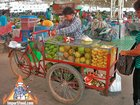 Fresh Fruit from a Bicycle Cart