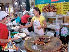 Sidewalk Guide to Bangkok's Finest Street Vendors - Saochingcha Area - Tien Song