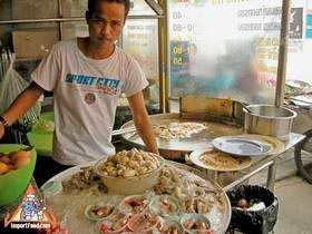 Sidewalk Guide to Bangkok's Finest Street Vendors - Thong Lor Area - Chow Lei Seafood