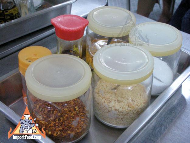 Thai Table Pad Thai The Pad Thai is Made in an