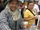 Street Vendor Ice Cream Pushcart