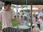 Street Vendor Prepares Khanom Krok