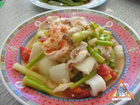 Yum Crispy Kan Kana Salad