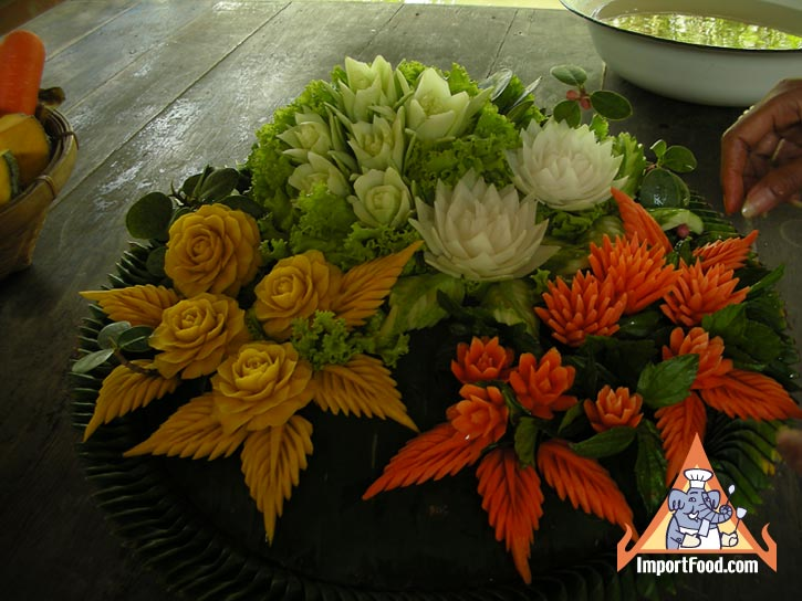 Image gallery japanese vegetable carving