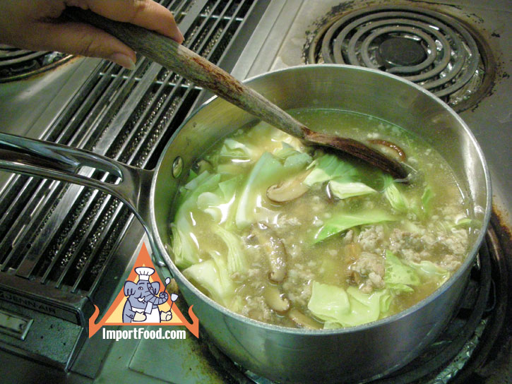 how to make prawn laksa soup