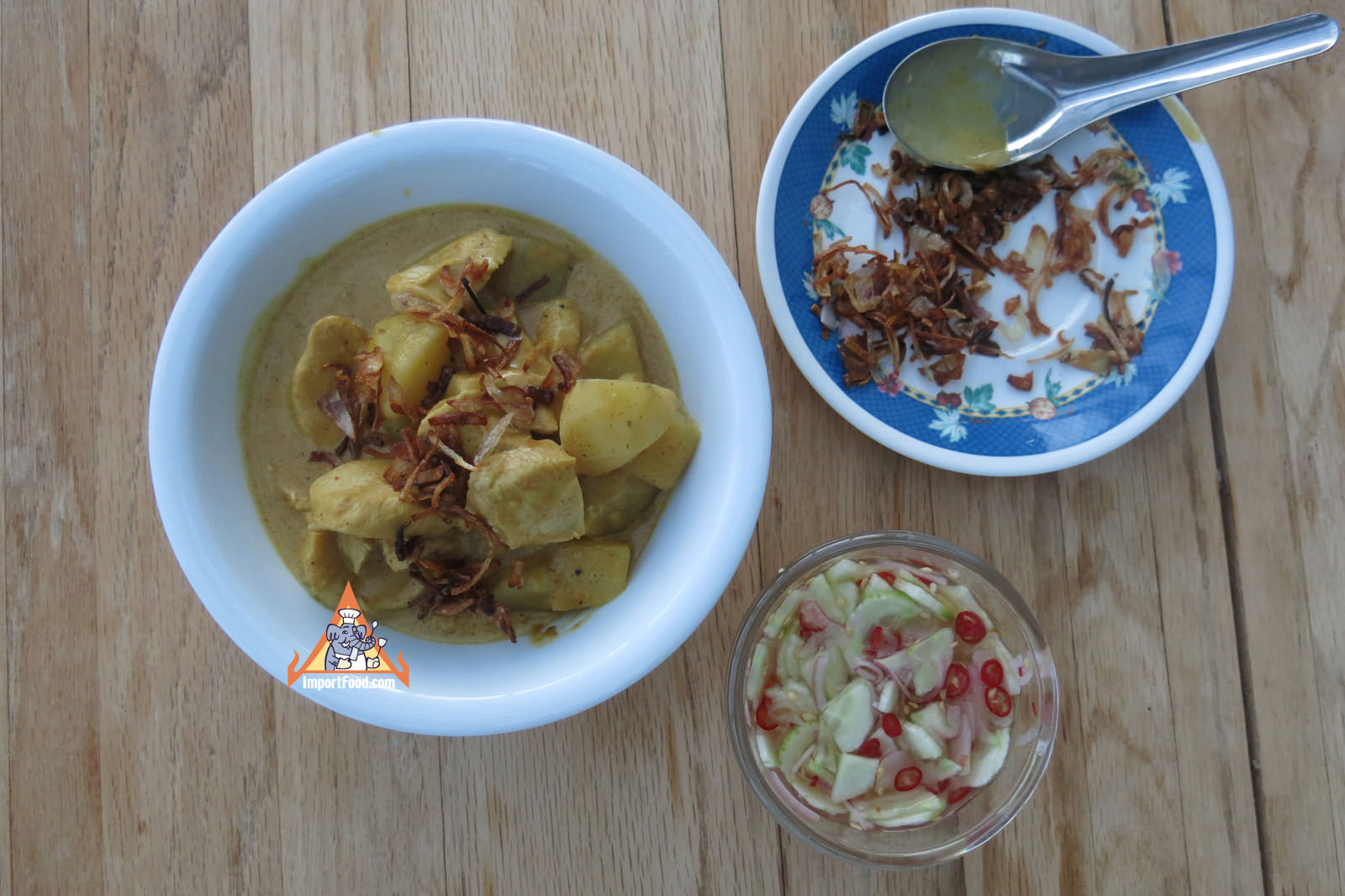 Thai Yellow Curry Chicken, 'Gaeng Karee Gai'