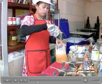 Thai Tea Street Vendor