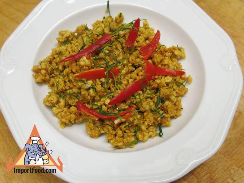 Southern Thai Wok Chicken, 'Gai Koor Kling'