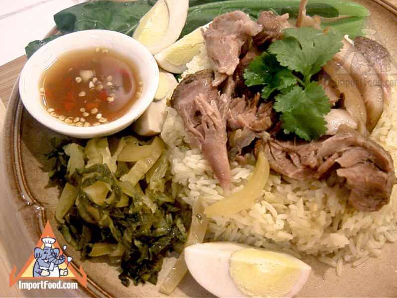 Pork Leg on Rice,