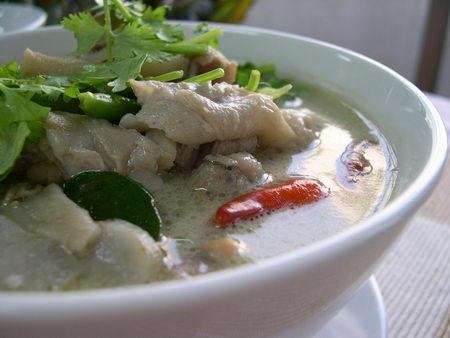 Thai Ginger Chicken Soup, 'Tom Khing Gai'