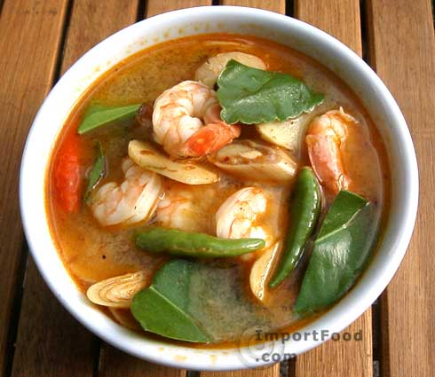 Thai Prawn Soup with Lemongrass, 'Tom Yum Goong'