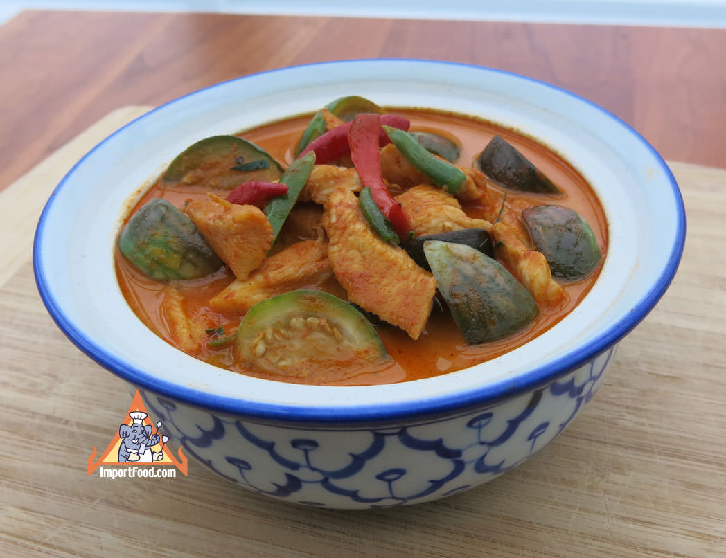 Thai Red Curry Chicken, 'Gaeng Phed Gai'