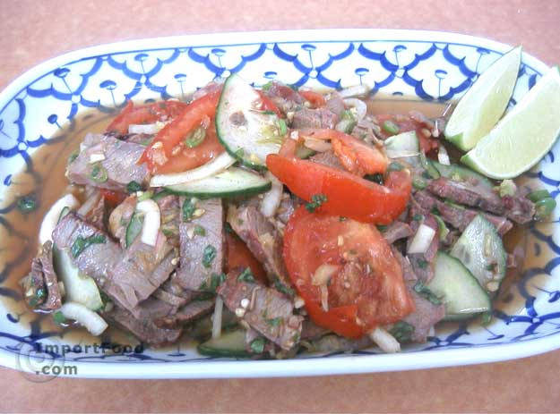 Thai Beef Salad, 'Yum Nuea'