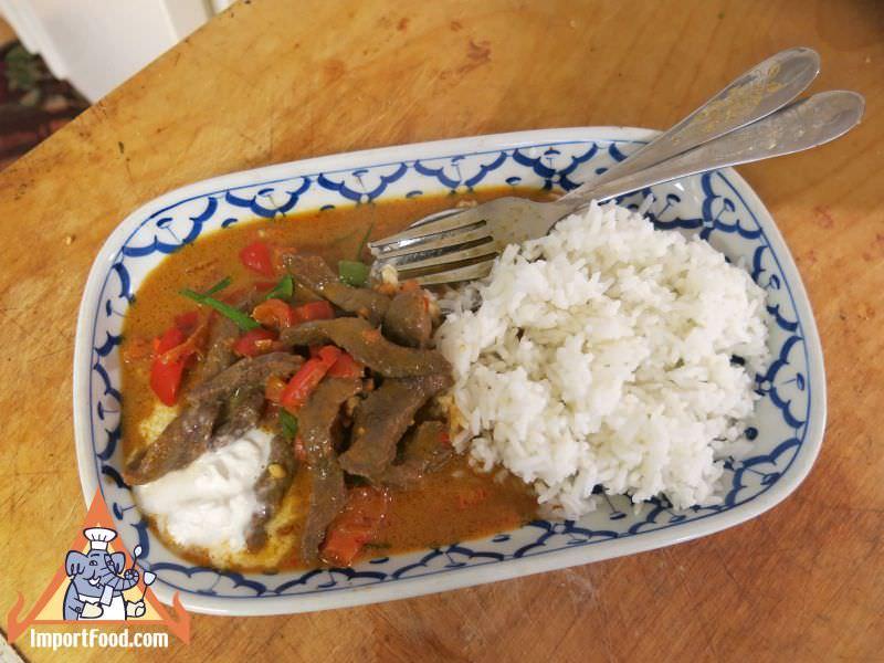 Thai Panang Beef