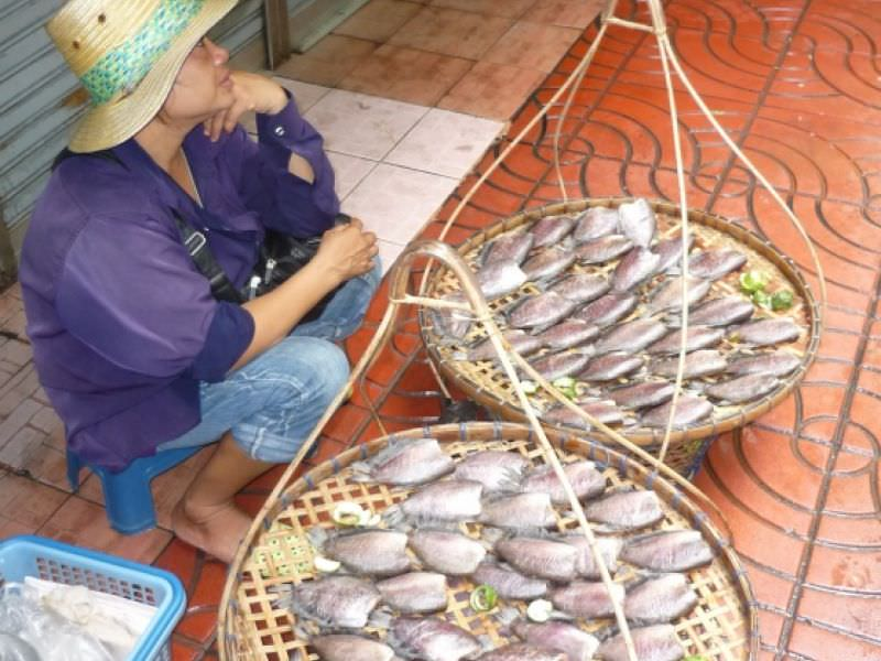 Thai-Style Fried Fish, 'Pla Jian'
