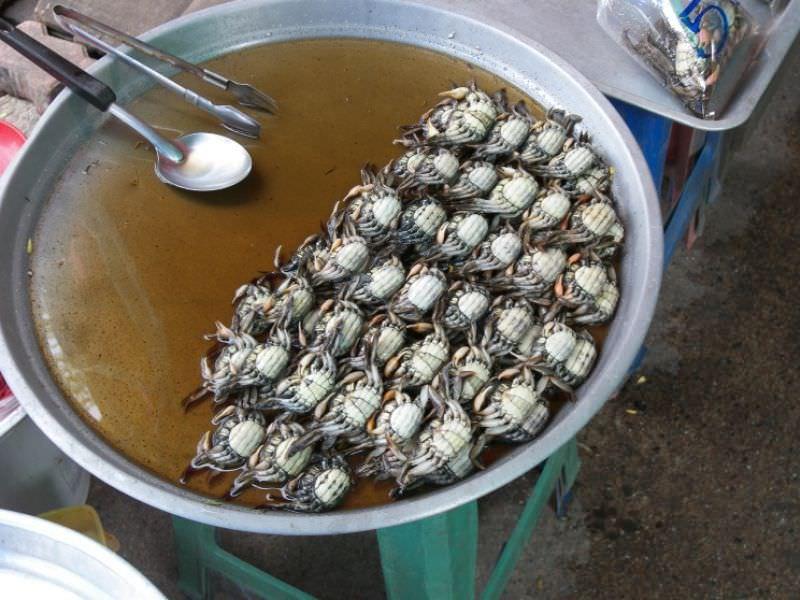 Thai-Style Crab & Onion, 'Bu Pad Hom Yai'